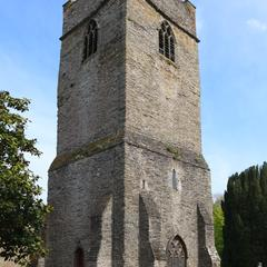 Padstow St Petroc west tower from the northwest