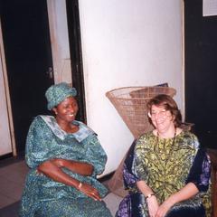 Lillian Trager and Bisi Ogunleye
