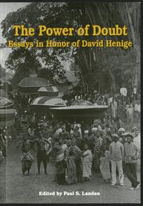 Page 1 - [Cover] The Power of doubt: essays in honor of David Henige