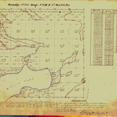 [Public Land Survey System map: Wisconsin Township 16 North, Range 13 East]