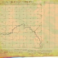 [Public Land Survey System map: Wisconsin Township 22 North, Range 08 West]
