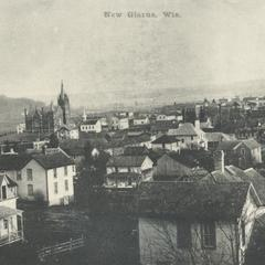 View of New Glarus, early 1900s
