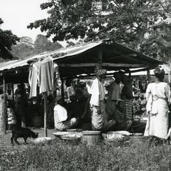 Shops at Igangan market