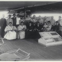 """Filipinos visit """"Burnside,"""" 1901"""