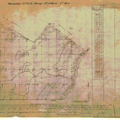 [Public Land Survey System map: Wisconsin Township 22 North, Range 19 East]