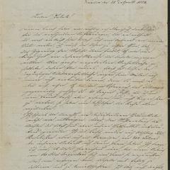 [Letter from Alois Roth and Kajetan to Jakob Sternberger, April 28, 1854]