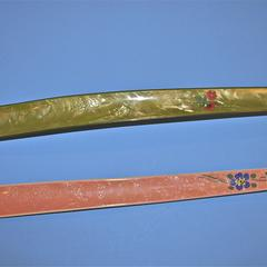 Two long shoehorns