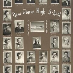1959 New Glarus High School graduating class