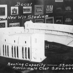"""Boost the new Wis stadium"""