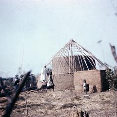 House Construction Near Dabola