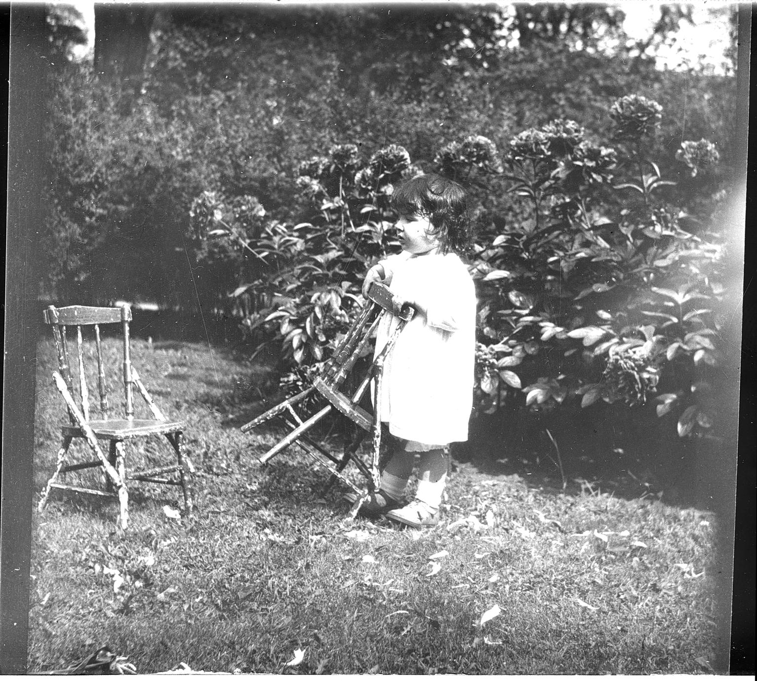 [Girl with chair]