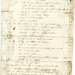 Account with J.H. Youngs, 1857