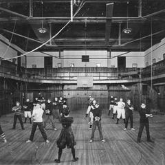 Old Main gymnasium
