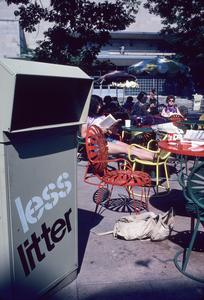 Trash at the Union Terrace