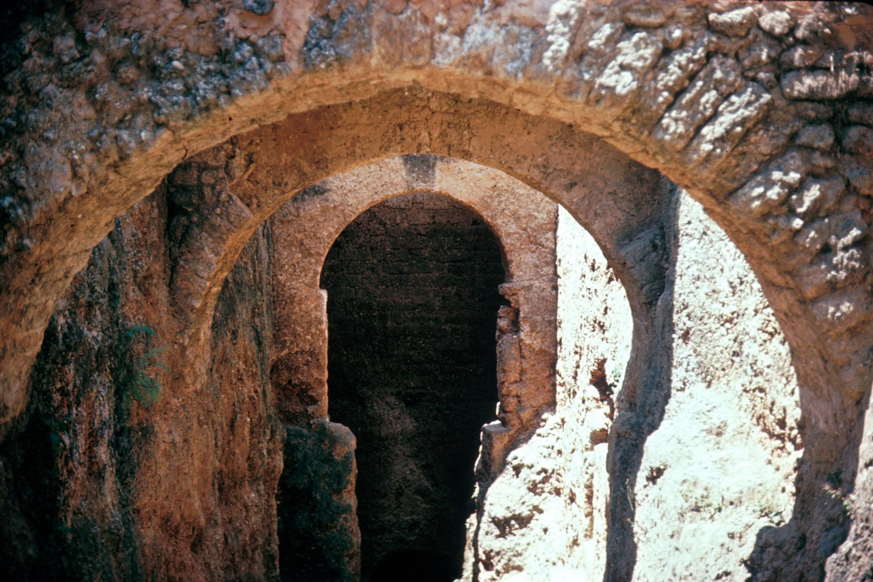 Support Arches Beneath One of the Walls at Fort Jesus