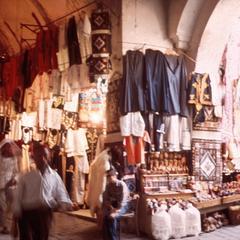 Inside Suq (Market) in Tunis