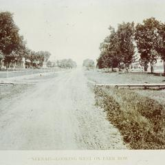 Park Row - Looking West on East Wisconsin Avenue