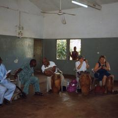 Group with drums