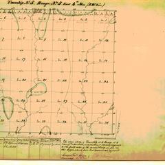 [Public Land Survey System map: Wisconsin Township 05 North, Range 05 East]
