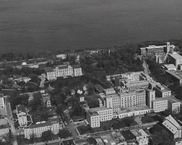 Aerial photo of Wisconsin General Hospital