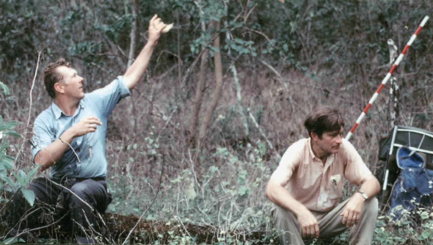 Frank A. Iwen (Field Assistant) and William G. Reeder (Expedition Leader)