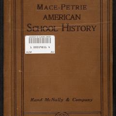 Mace-Petrie American school history