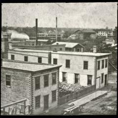 Main Street - north end - Bain Wagon Company - Allen Tannery - Water Cure