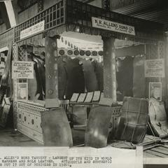 Allen Tannery exhibition booth