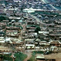 Housing in African Quarter of Bukavu