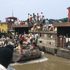 Barges and Boats on the Congo River
