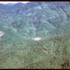 Vangviang : air view--terrain near Vangviang