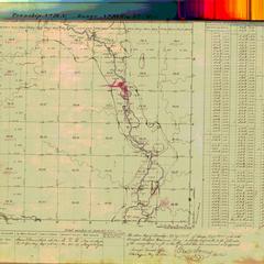 [Public Land Survey System map: Wisconsin Township 19 North, Range 10 West]