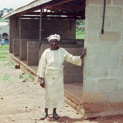 Mrs. Adejoka at Iloko market