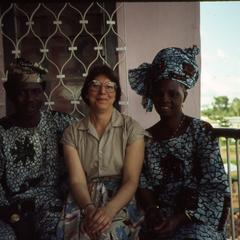 Lillian Trager and the Oluyemis