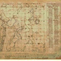 [Public Land Survey System map: Wisconsin Township 01 North, Range 20 East]