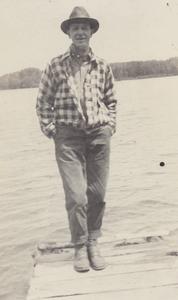 Man at Connors Lake