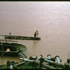 Tha Deua bend : Mekong River pumps