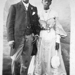 Photo of Well-to-do Krio Couple, Circa 1900