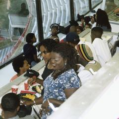 African American faculty, staff, student reception in 1996