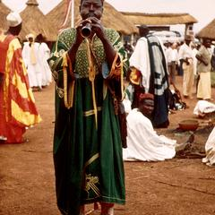 Musician in Lamido's Court