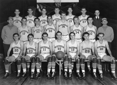 Men's 1941 basketball team