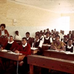 Students at Orlando High School in Soweto