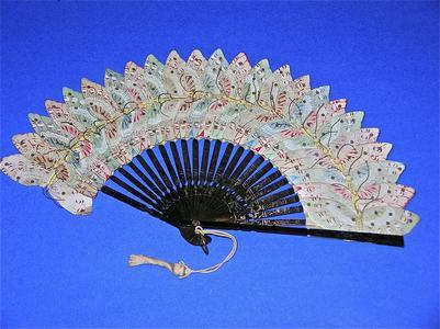 Japanese butterfly fan