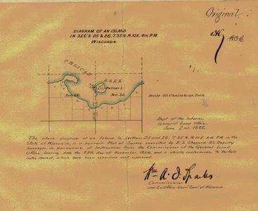 [Public Land Survey System map: Wisconsin Township 35 North, Range 10 East]