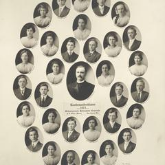 1915 Swiss Reformed Church confirmation class