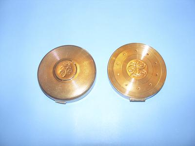 Two Fuller Brush vanity compacts