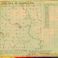 [Public Land Survey System map: Wisconsin Township 30 North, Range 12 East]