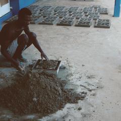 Making Ornamental Concrete Blocks