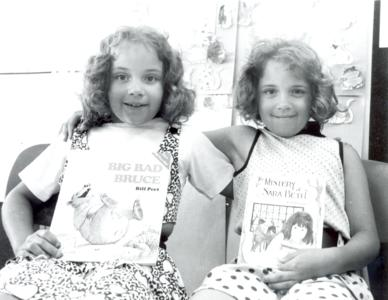 Children at the Summer Reading Clinic