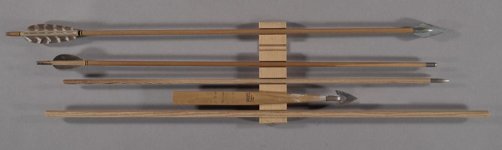 The bow-and-arrow making process